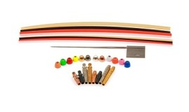 Eumer Micro tube fly tying kit