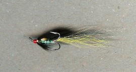 Green Brahan longtail red head silver treble