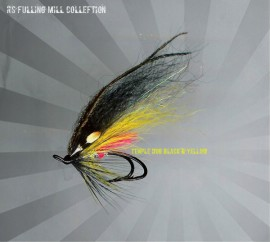 Temple Dog Black & Yellow Double