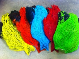 Premium large dyed badger capes