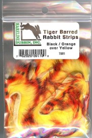 Tiger barred rabbit strips