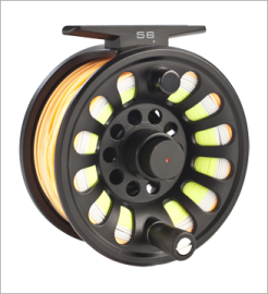 New Vision Deep salmon reel 11/12