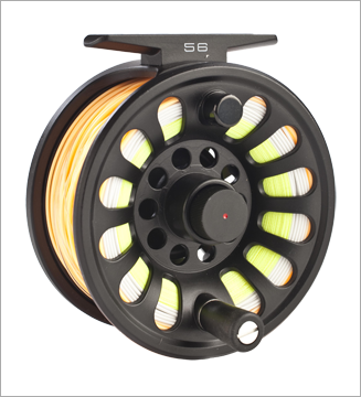 NEW Vision Deep salmon reel 9/10