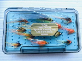The ultimate gift fly selection (personalised)